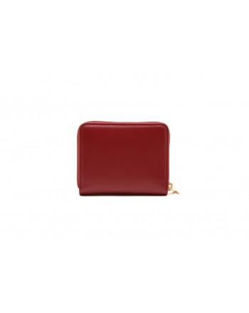 PINKO - DETROIT leather wallet - Dark Red