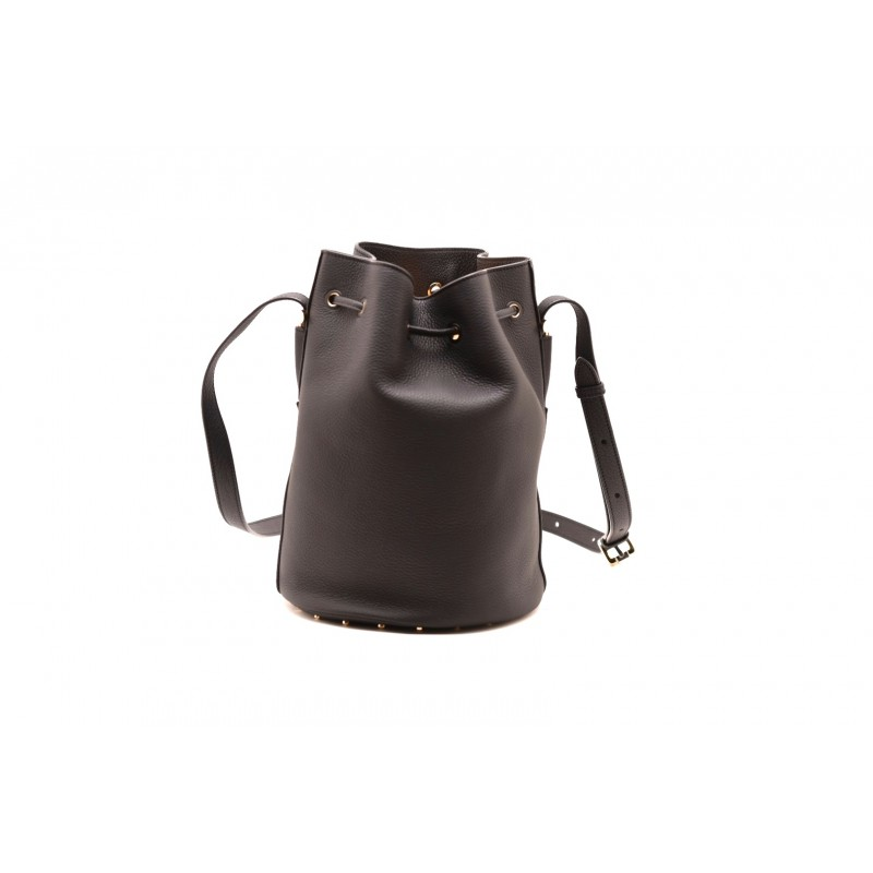TOD'S - Leather Little Satchel - Black