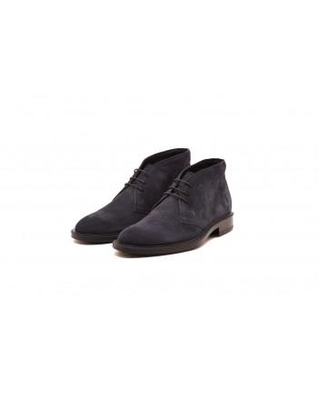 TOD'S - Suede boots - dark blue