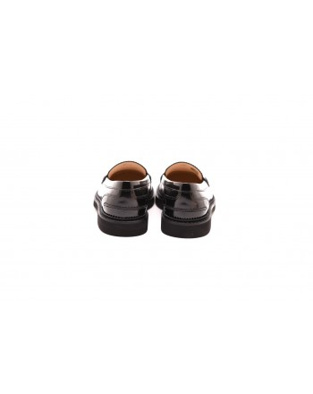 TOD'S - COLLEGE  Leather Loafers  - Black