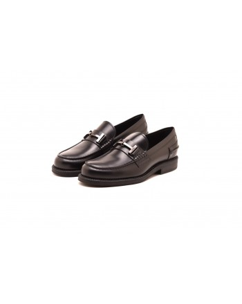 TOD'S - Leather loafers - Black