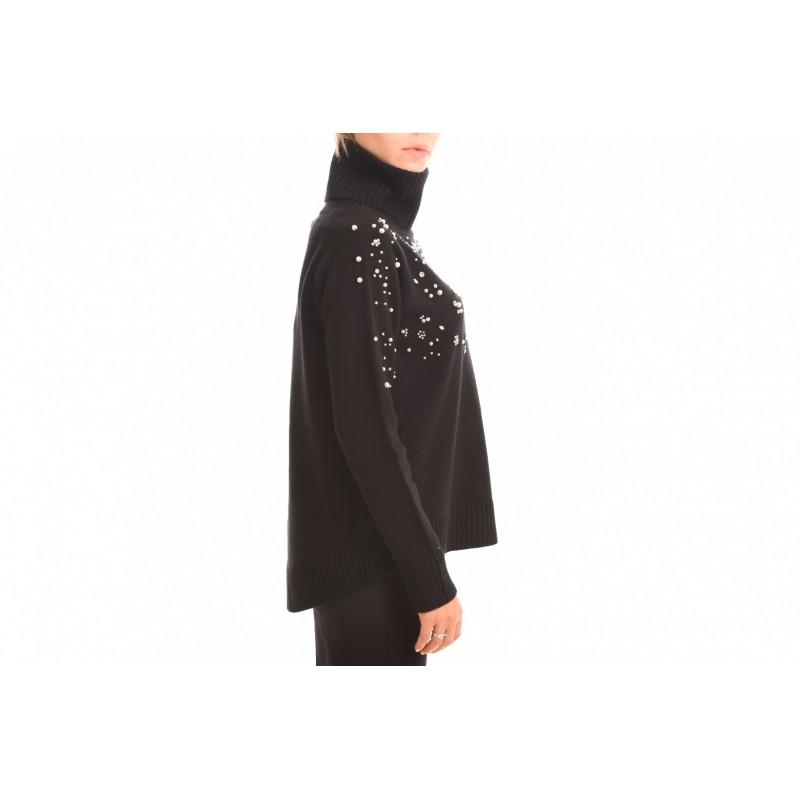 MAX MARA STUDIO - ACCIUGA sweater in cashmere - Black