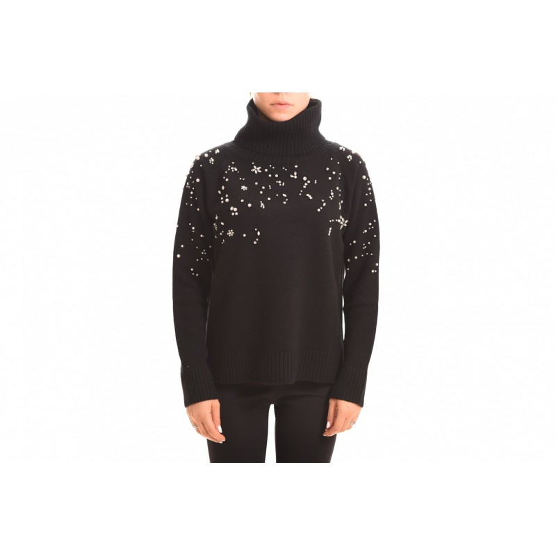 MAX MARA STUDIO - ACCIUGA sweater in cashmere - Black