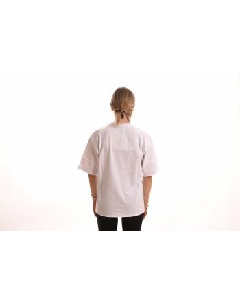PHILOSOPHY di LORENZO SERAFINI - Cotton T-Shirt with Logo - White
