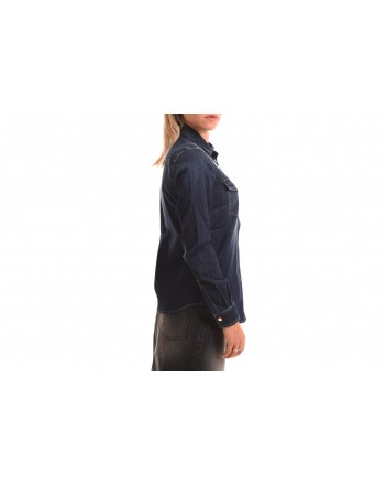 PINKO - Camicia in Denim CAROLINE - Blu
