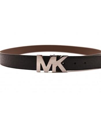 MICHAEL by MICHAEL KORS - MK leather belt - Black