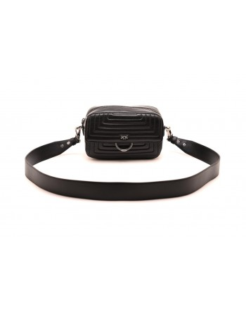 PINKO - Borsa LOVE CAMERA CASE - Nero