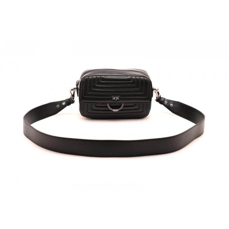 PINKO - LOVE CAMERA CASE Bag- Black