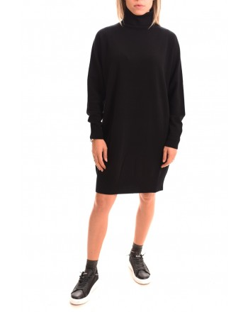MaxMara Studio - Cashmere and wool dress - Black