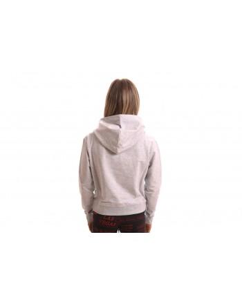 LOVE MOSCHINO - THE BEST sweatshirt in cotton - Grey