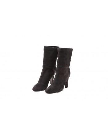 GIUSEPPE ZANOTTI - Suede Boots - Black