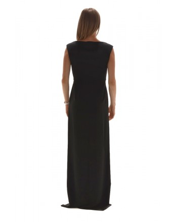 MAX MARA STUDIO - Long Dress - Black