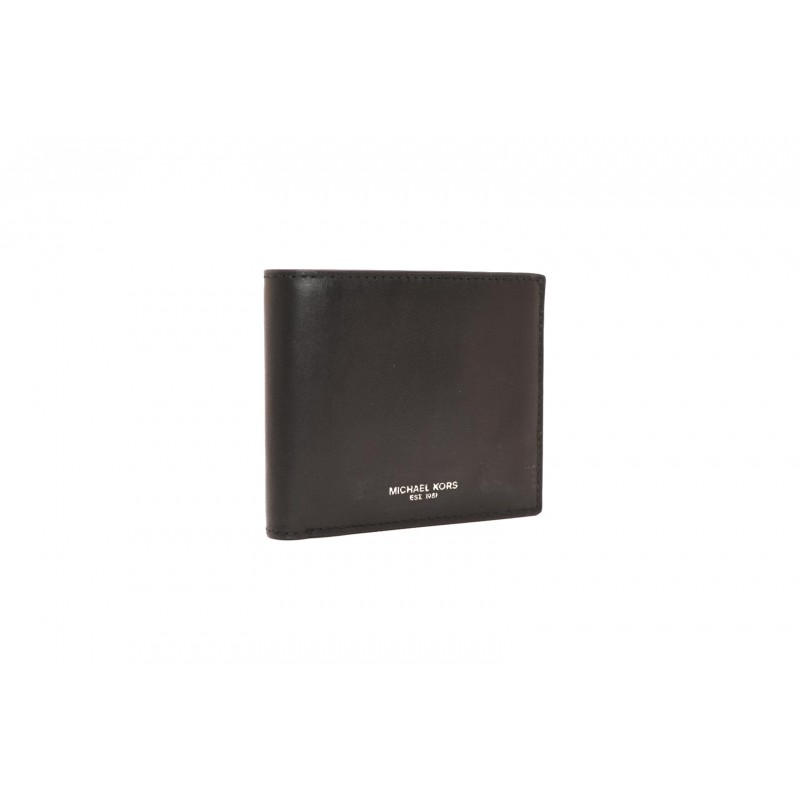 MICHAEL BY MICHAEL KORS - HENRY BILLFOLD leather wallet - Black
