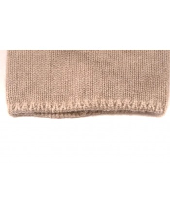MAX MARA - Wool hat with pon-pon CRASSO - Ivory