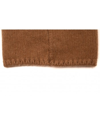 MAX MARA - Wool hat with pon-pon CRASSO - Camel