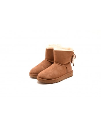 UGG - Stivaletto MINI BAILEY BOW II - Chestnut