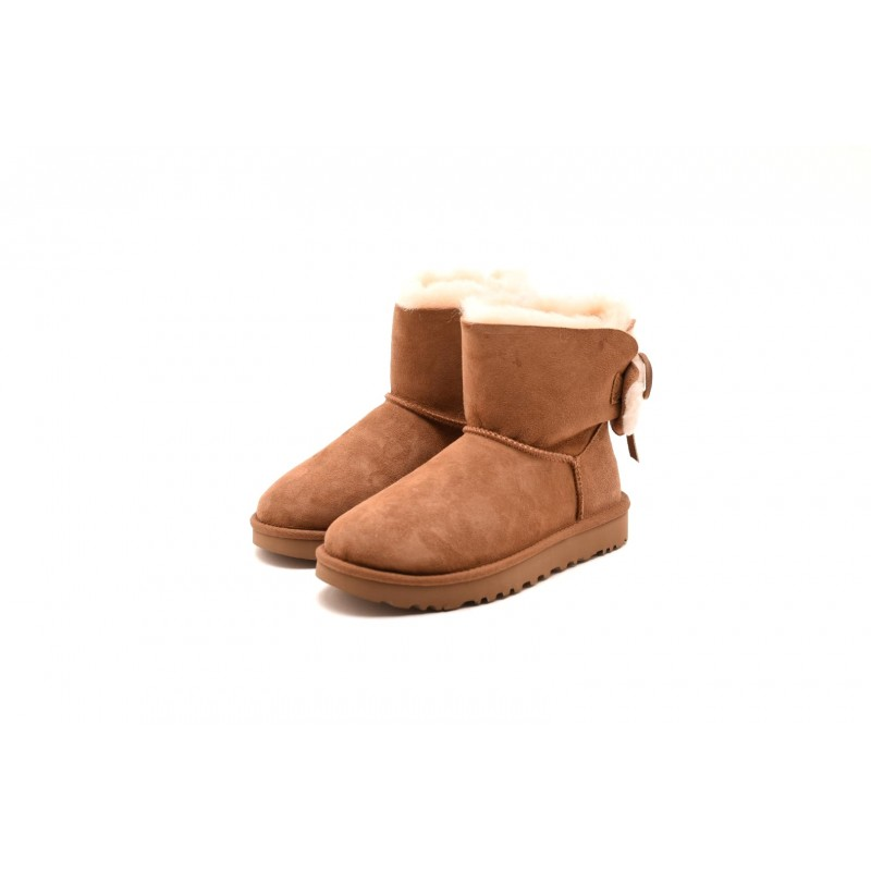UGG - MINI BAILEY BOW II boot - Chestnut