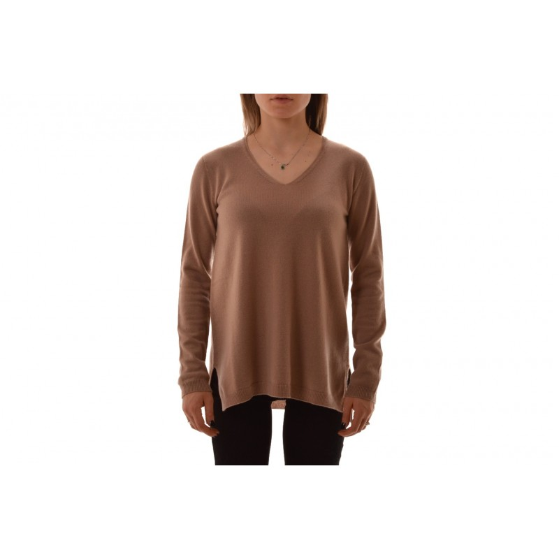 S MAX MARA - GEBE Cashmere  Knit - Camel