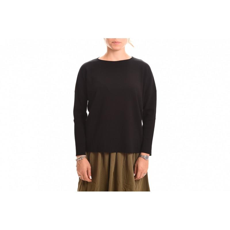 WEEKEND MAX MARA - GINSENG Wool Knit  - Black