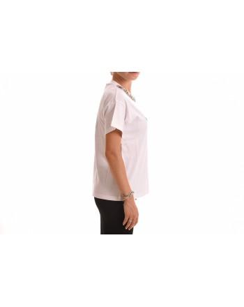 FRANKIE MORELLO - T-Shirt in Cotone stampa French Bulldog - Bianco