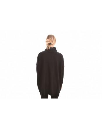 MAX MARA STUDIO - Turtleneck Knit SILVA  - Black