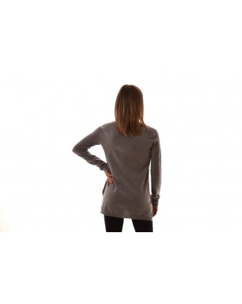 S MAX MARA - GEBE Cashmere  Knit - Light Grey