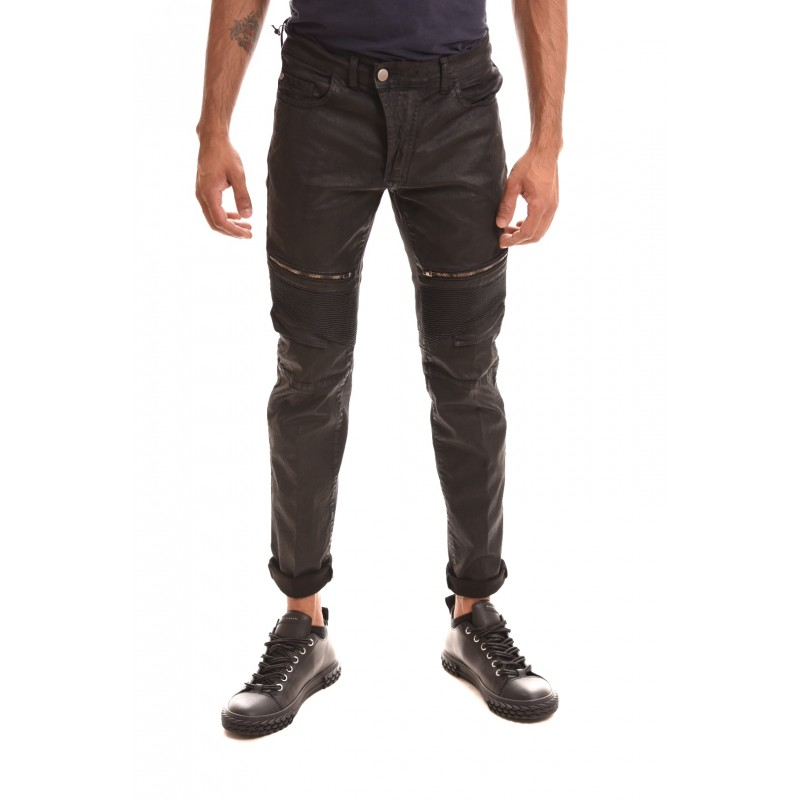 FRANKIE MORELLO - DA VINCI MOTOR Jeans - Black