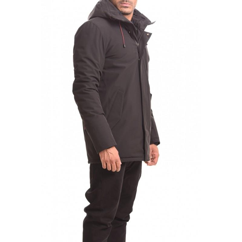 INVICTA - Hooded jacket - Black