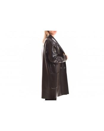PINKO - Boiled Wool ESTATE Coat - Black