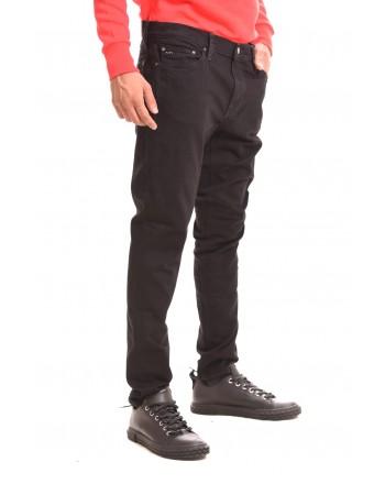 MICHAEL BY MICHAEL KORS - Pantalone in cotone elasticizzato - Nero