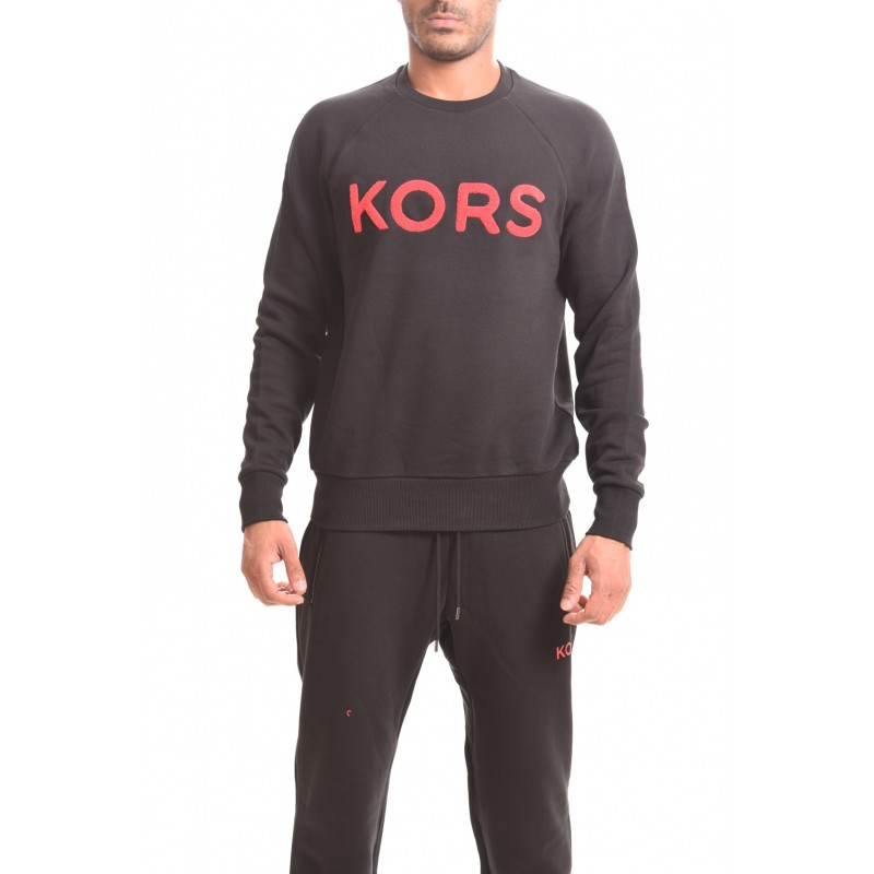 MICHAEL BY MICHAEL KORS - Cotton Swearshirt with LOGO - Black