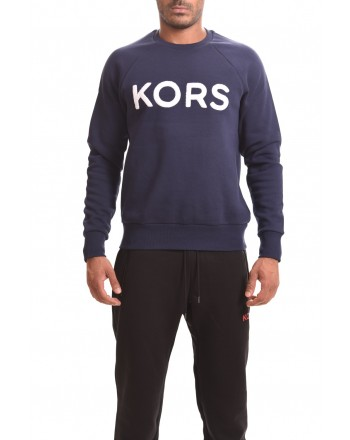 MICHAEL BY MICHAEL KORS - Felpa in cotone con scritta KORS - Notte
