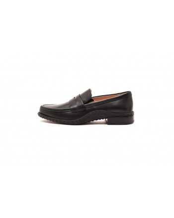 TOD'S - Mocassin in leather - Black