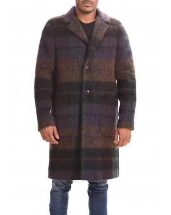 ETRO - Regular Deconstructed coat - Madra Colour