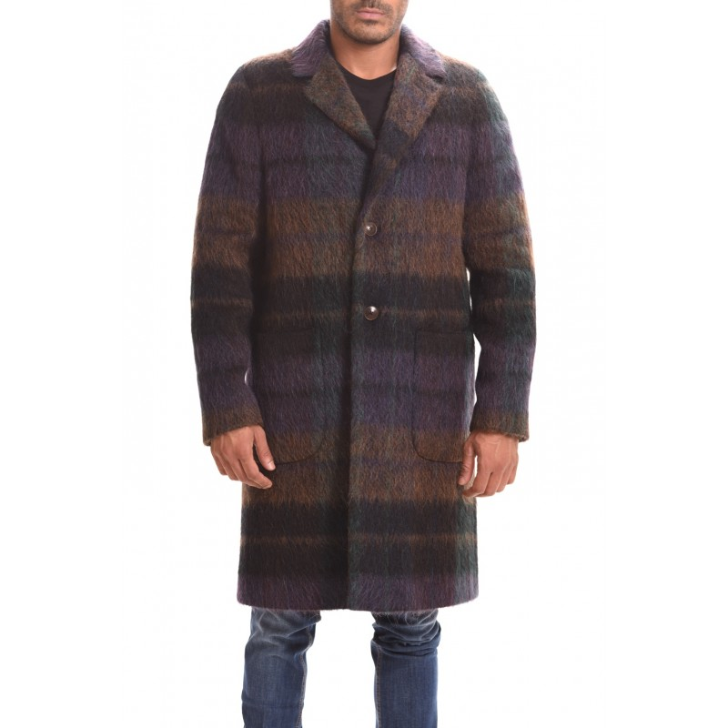 ETRO - Cappotto Decostruito Regular - Madra Color
