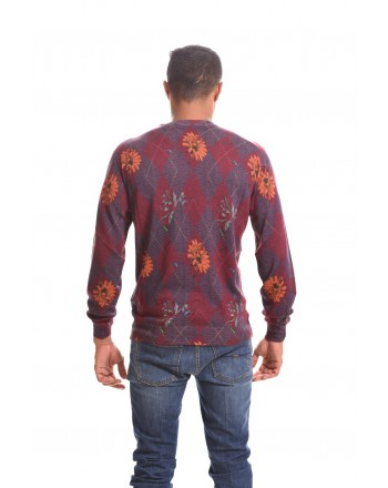 ETRO - Silk and cashmere sweater - Bordeaux