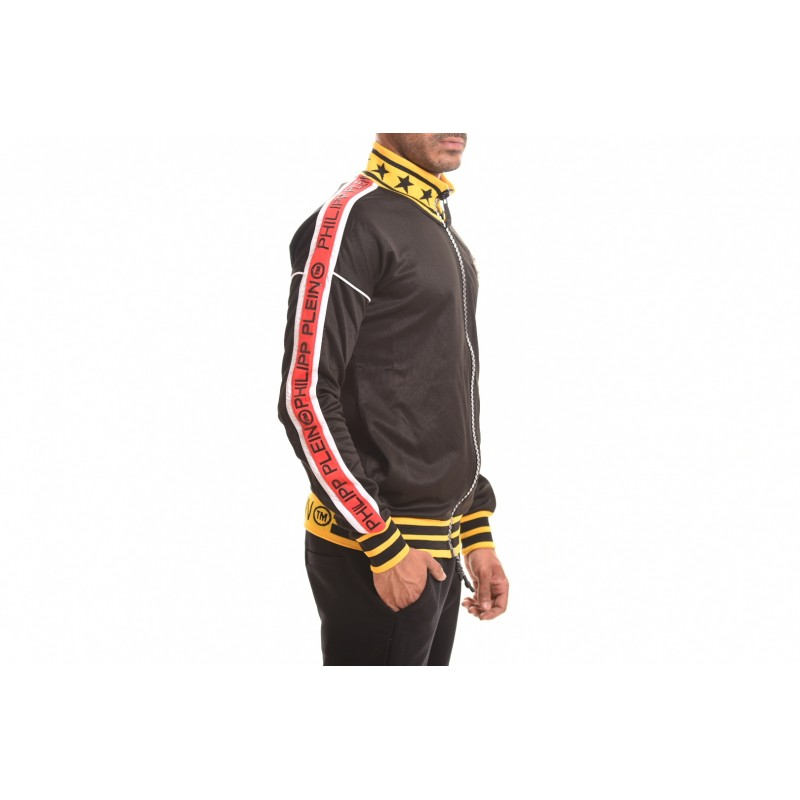 PHILIPP PLEIN - Cotton Sweatshirt Anniversary - Black