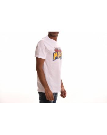 FRANKIE MORELLO - T-Shirt in Cotone con Logo Pokemon  - Bianco