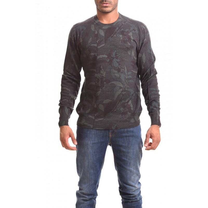ETRO - Maglia in cashmere e seta - Militare