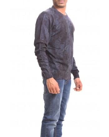 ETRO - Maglia in Cashmere e seta - Blu