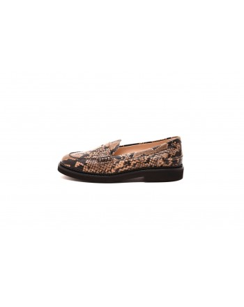 TODS' - Loafers in leather - Light Brown