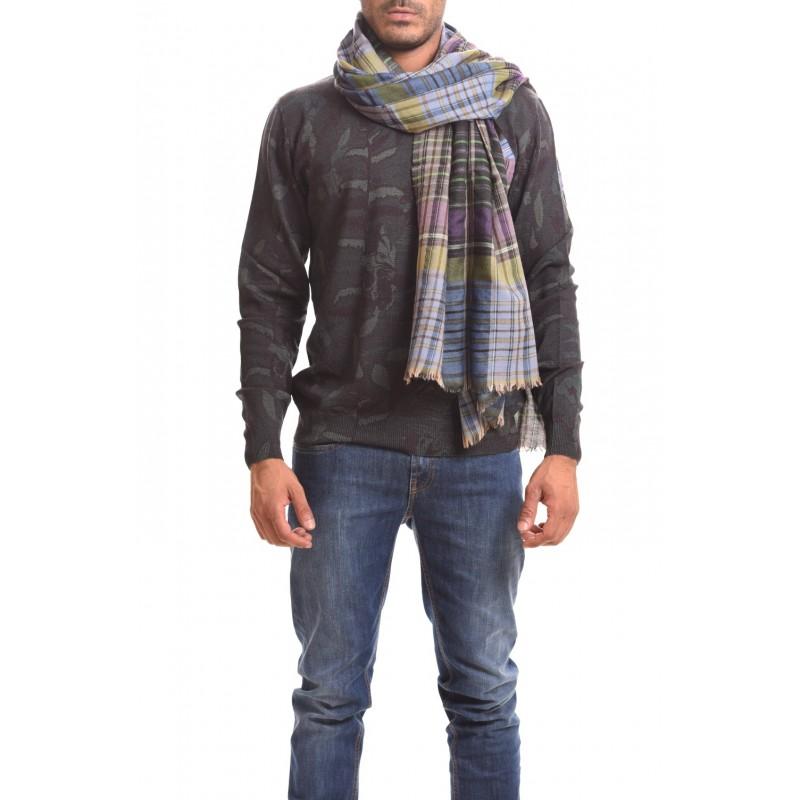 ETRO - Silk and cashmere - Light blue