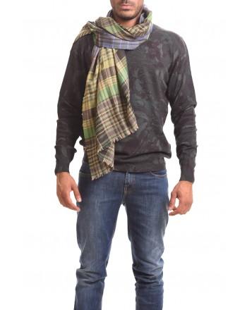 ETRO - Sciarpa in seta e cashmere - Giallo