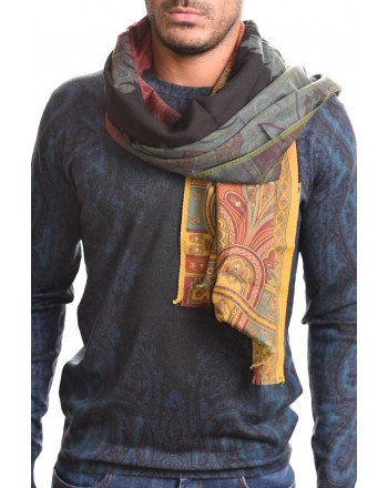 ETRO - DELHY scarf in cashmere and silk - Multicolour