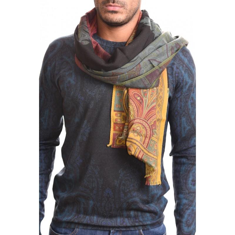 ETRO - DELHY scarf in cashmere and silk - Multicolour