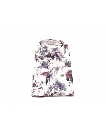 ETRO - Cotton shirt with floral print - Multicolour