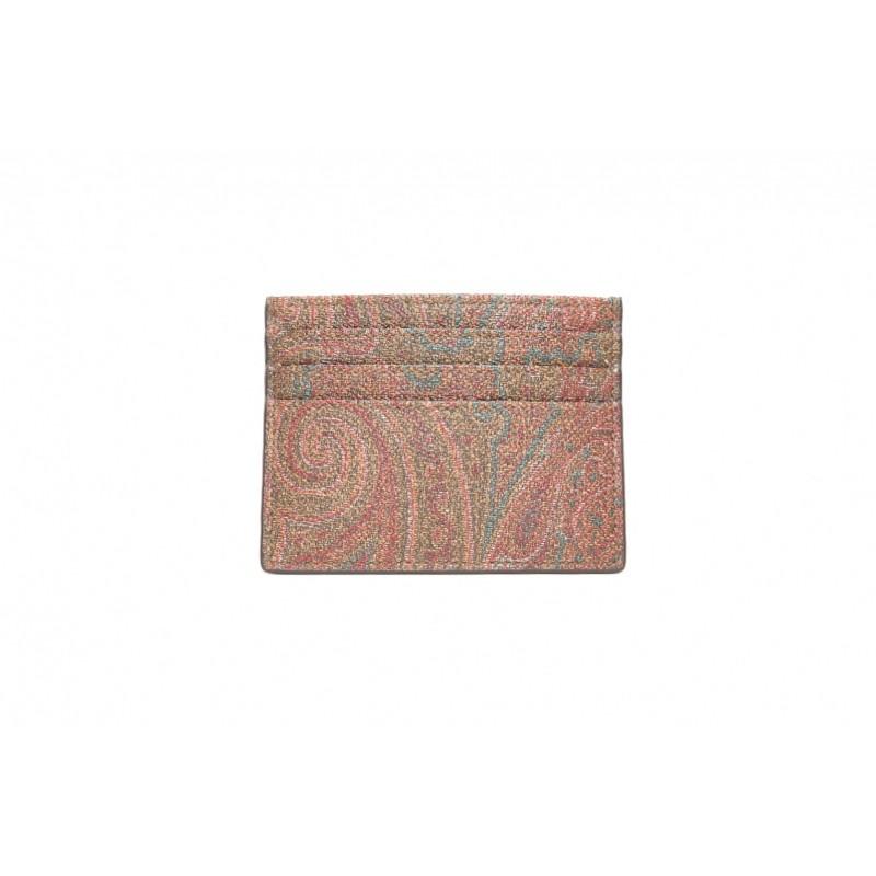 ETRO - Paisley card holder - Multicolour