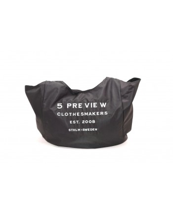 5 PREVIEW - Large bag with LOGO - Black
