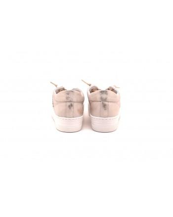 2 STAR - Sneakers in pelle con suola Alta - Bronzo