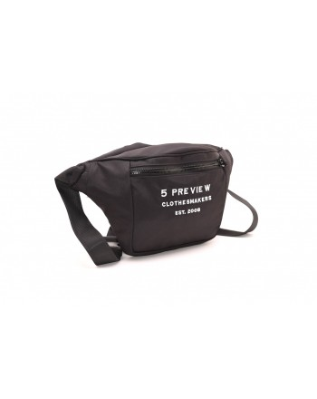 5 PREVIEW - Pouch with logo - Black